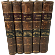 The Works of Sir Walter Scott, 21 Novels in Five Volumes, 1868, Edinburgh