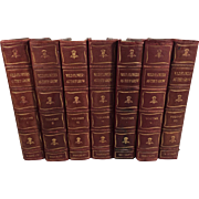 Wild Flowers as They Grow, Essenhigh-Cork and Nuttall, in Seven Volumes Complete, Hardbound