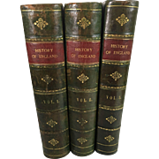 Popular History of England, Charles Macfarlane and Thomas Archer, Three Volumes, Blackie & Son, London, 1886