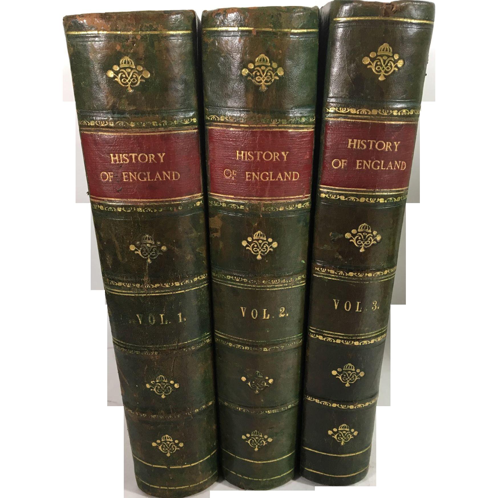 Popular History of England, Charles Macfarlane and Thomas Archer, Three Volumes, Blackie & Son, London, 1886