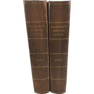 Chamber's Edinburgh Journal, Volumes 1849 and 1850
