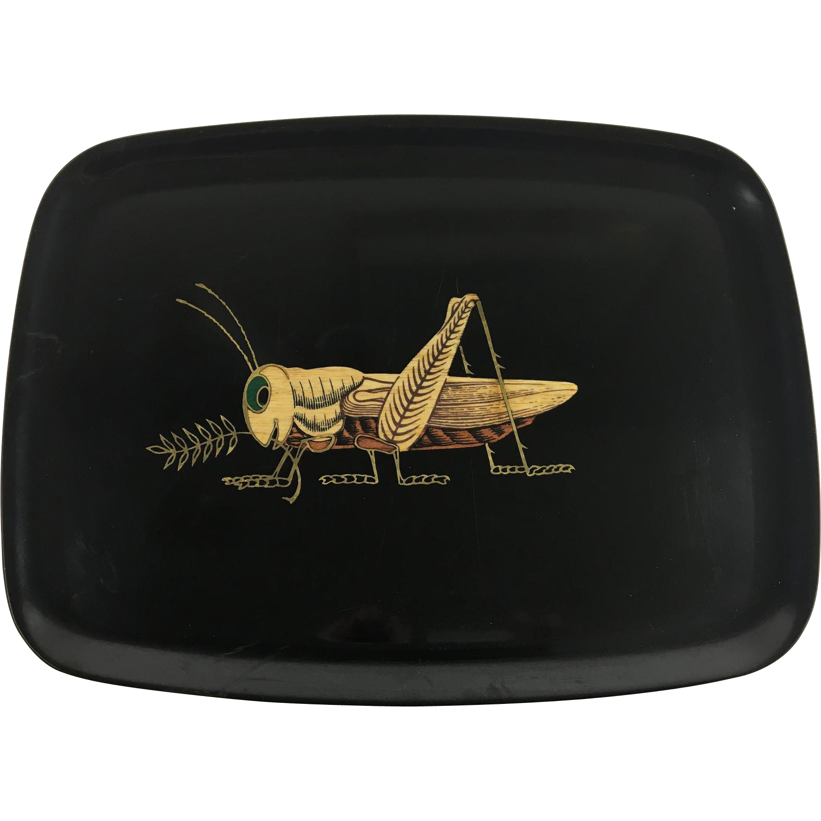 Couroc Serving Tray Cricket