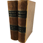 The Great Rebellion; A History of the Civil War in the United States, In Two Volumes by J. T. Headley - Red Tag Sale Item