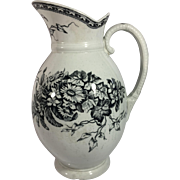 English Victorian Aesthetic Jug.  1884