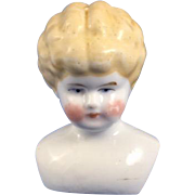 Vintage Porcelain Doll Head