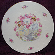1977 Royal Doulton Valentine Heart of Love Collector's Plate