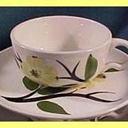 Stetson Joni Dixie Dogwood Cup & Saucer ~ 5 available