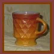 Anchor Hocking Fire King Kimberly Mug ~ 2 Available
