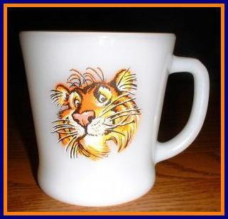 Fire King Esso Tony the Tiger Mug