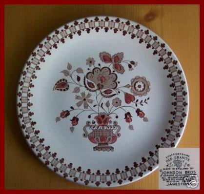 Johnson Bros Jamestown Dinner Plate