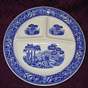 Warwick China Tudor Rose Grill Plate