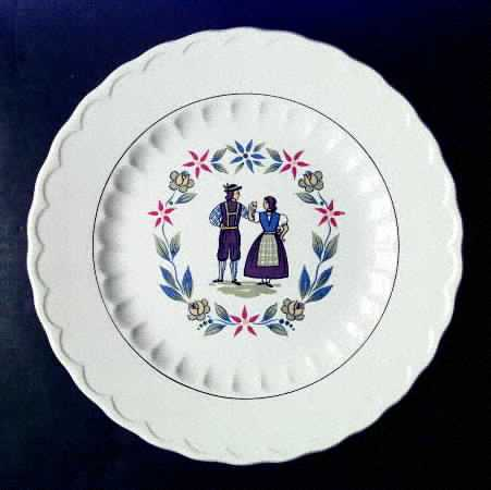 Edwin Knowles Mayflower Dinner Plate