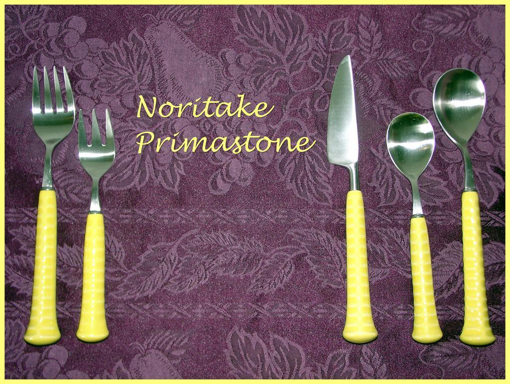 Noritake Primastone Stainless Flatware