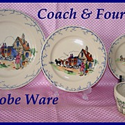 Syracuse Adobe Ware Coach & Four Place Setting
