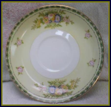 Meito China Floral Bouquet Saucer Replacement Annie S
