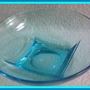 Hazel Atlas Azure Blue Capri Colony Bowl