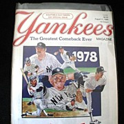 Yankees Magazine The Greatest Comeback Ever 1988