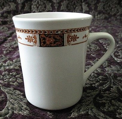 Syracuse China Coffee Mug Webster Pattern