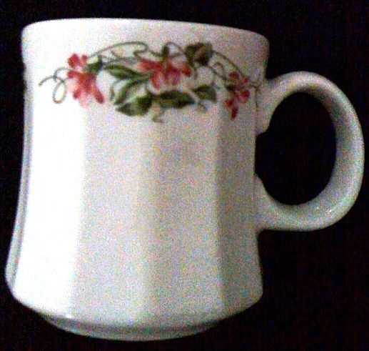 Homer Laughlin China Floral Mug