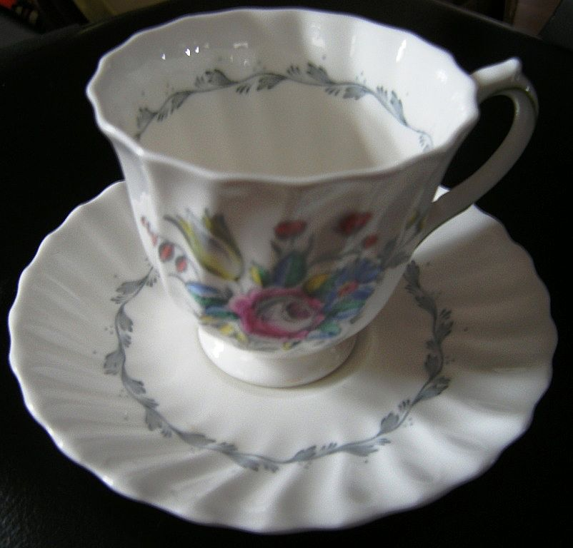 Royal Doulton Chelsea Rose Footed Demitasse Cup