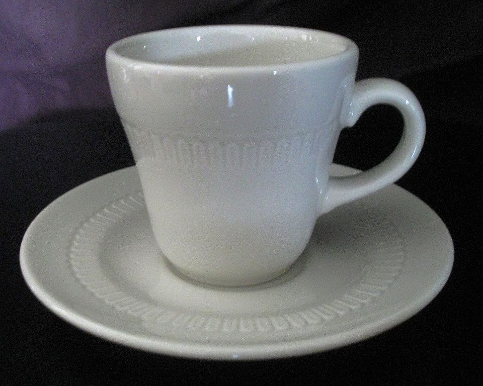 Syracuse Demitasse Cups & Saucers ~ Set of 6