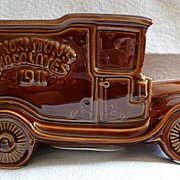 Wade Pottery Thornton's Chocolate Van ~ Piggie Bank