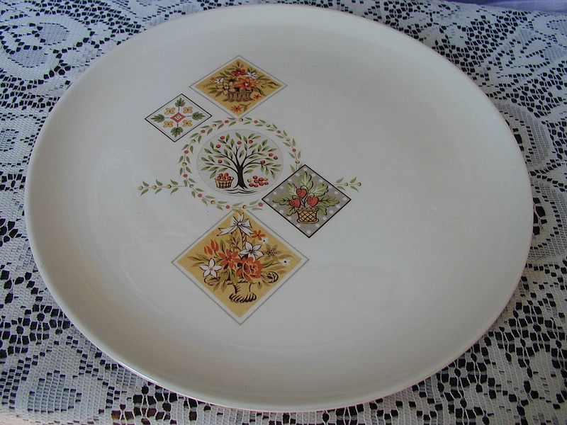 Taylor Smith Taylor Brocatelle Dinner Plate