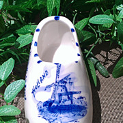 Union Haarlem Blue Delftware Clog