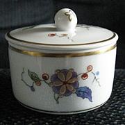 Richard Ginori Gold Trimmed Floral Trinket Box