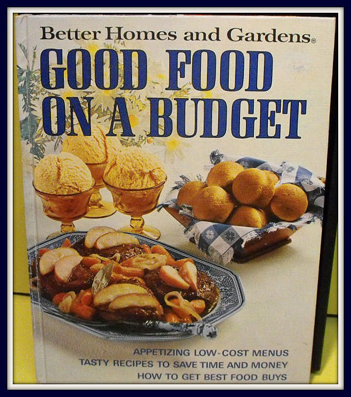 Better Homes & Gardens Good Food on a Budget ~ Free Shipping