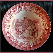 British Anchor English Country Scenes Vegetable Bowl