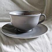 Hazel Atlas Ovide Sierra Breakfast Cup & Saucer