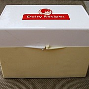 Vintage Dairy Recipe Box Cathy Crowley
