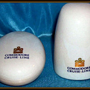Commodore Cruise Line Salt & Pepper Set