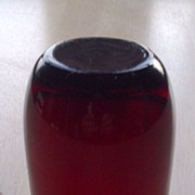 Anchor Hocking Royal Ruby Roly Poly 5 oz Flat Juice Glass