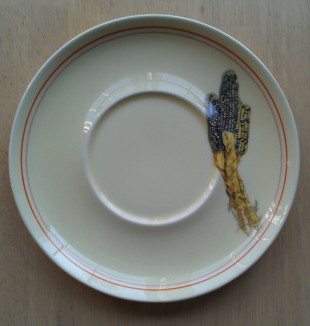W S George Indian Corn Saucer