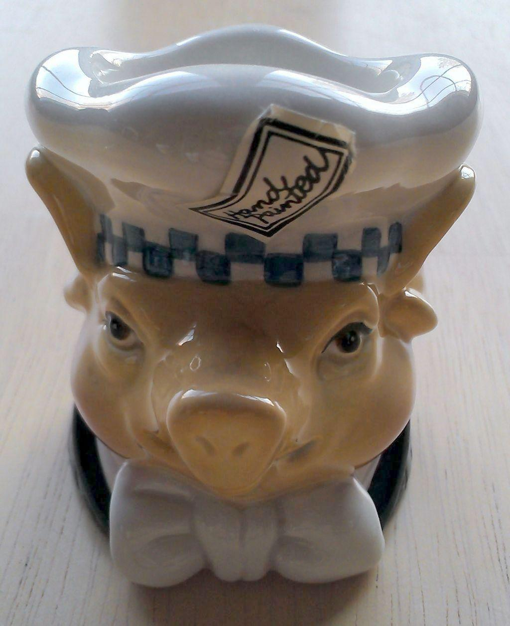 Department 56 Jam Bon Pig Chef Egg Cup