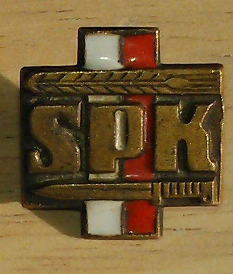 Polish Combatants Association (SPK) Membership Pin