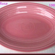 Homer Laughlin Fiesta® Rose Oval Platter