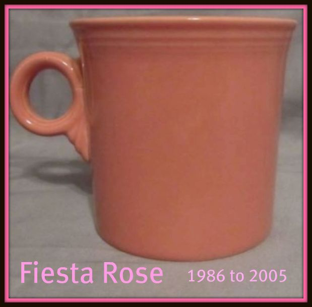 Homer Laughlin Fiesta® Rose Mug