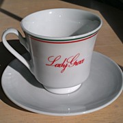 Lady Grace Espresso Cups and Saucers Set