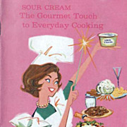Sour Cream Recipe Booklet The Gourmet Touch to Everyday Cooking