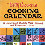 Betty Crocker Cooking Calendar Recipe Book ~ Free Shipping