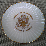 Lenox U.S. Savings Bonds Commemorative Dish