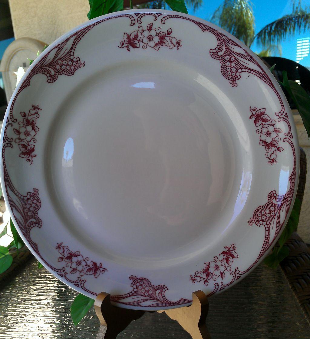 Shenango Rose Point Dinner Plate