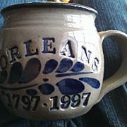 Westerwald Pottery Orleans Massachusetts Bicentennial Coffee Mug
