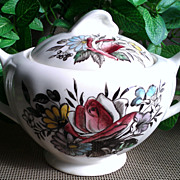J & G Meakin Devonshire Sugar Bowl & Lid