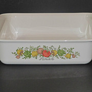 Corning Pyrex Spice of Life Square Baker