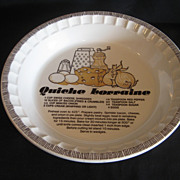 Royal China Country Harvest Quiche Lorraine Baker