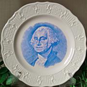 Fraunces Tavern NYC George Washington Commemorative Plate